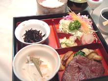キロサ牧場 奥羽牛ステーキ弁当 ランプ肉(100g)