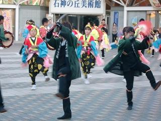 沼宮内七ッ踊り 2012年の様子