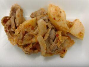 長芋豚キムチ