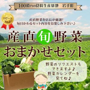 産直旬野菜おまかせセット