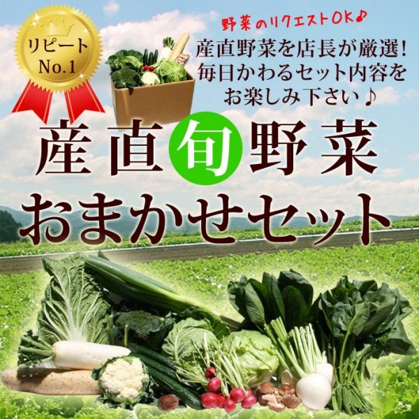 産直旬野菜おまかせセット[2,000円コース]
