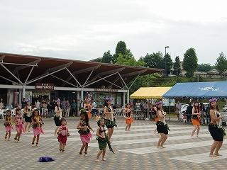フラダンスショー「カナロアフラ」