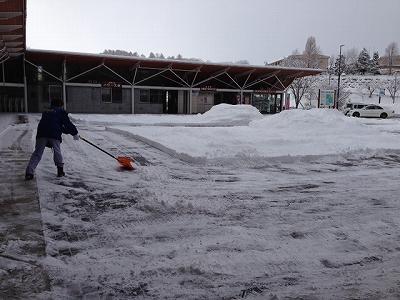 2014.1.2初日雪かき
